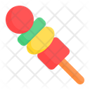 Satay Barbeque Skewer Icon