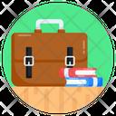 Briefcase Satchel Bag Icon
