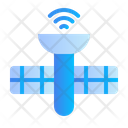 Satelite Camera Laptop Icon