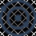 Satellite Radar Space Icon