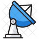 Satellite Parabolic Antenna Satellite Station Icon