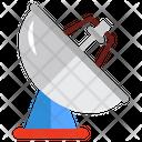 Astronomy Radio Telescope Research Icon