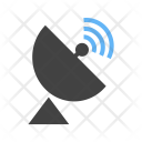 Satellite Dish Radar Icon