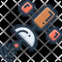 Satellite Gps Space Icon