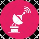 Satellite Communication Radar Icon