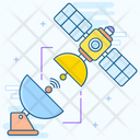 Communication Satellite Satellite Space Antenna Icon