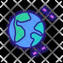 World Map Atlas Icon
