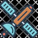Satellite Planetoid Tracking Icon