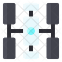 Space Station Satellite Icon