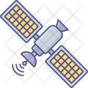 Communication Satellite Space Icon