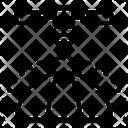 Astronomy Orbit Satellite Icon