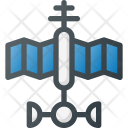 Satellite Orbit Radar Icon