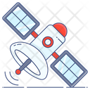 Satellite Artificial Satellite Space Station Icon