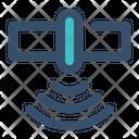 Satellite Transmitter Signal Icon