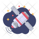 Satellite Station Galaxy Icon