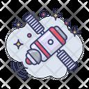 Satellite Station Galaxy Icon