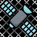 Satellite Communication Speaking Icon
