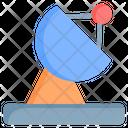 Satellite Science Technology Icon