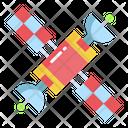 Satellite Galaxy Space Icon