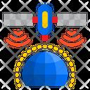 Satellite World Signal Icon