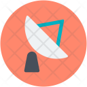 Satellite Radar Network Icon