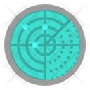 Satellite Radar Antenna Icon