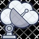 Satellite Antenna Wireless Icon