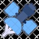 Satellite Signal Communication Icon