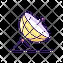 Satellite Technology Communication Icon