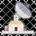 Satellite Broadcast Connection Icon