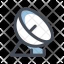 Satellite Electric Wave Icon