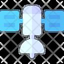 Satellite Network Space Icon