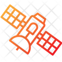 Satellite Broadcasting Communication Icon