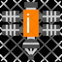 Radar Signal Satellite Icon