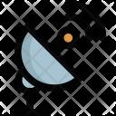Dish Network Satellite Icon