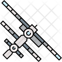 Satellite Spaceship Icon
