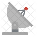 Satellite Communications Antenna Icon