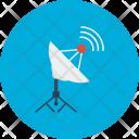 Satellite Concept Connection Icon