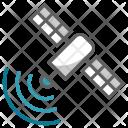 Satellite Telecast Broadcast Icon