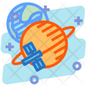 Orbit Sattelite Education Icon