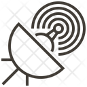 Satellite Signal Network Icon