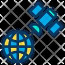World World Map Satelite View Icon