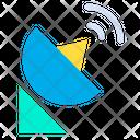Dish Radiotelescope Satellite Icon