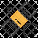 Satellite Space Track Icon