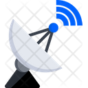 Satellite Dish Antenna Icon
