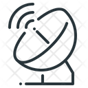 Satellite Antenna Telecommunication Transmitter Icon