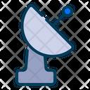Satellite Antenna Communication Technology Parabolic Dish Icon