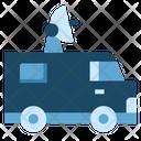 Satellite Car Icon