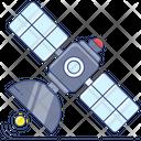 Satellite Communication Space Station Artificial Satellite Icon
