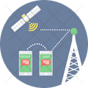 Satellite Communication Icon